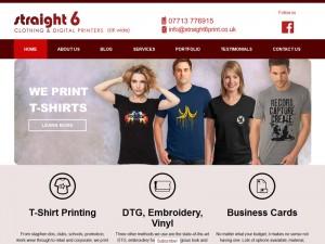 Straight 6 CMS Web Design